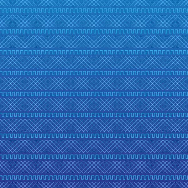 Blue Geometric Pattern vector