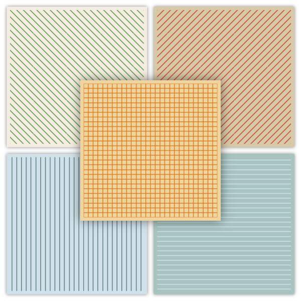 Geometric Patterns Set vector