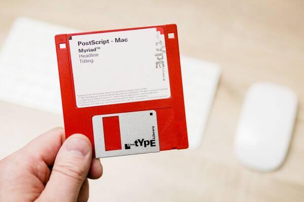 Floppy photo
