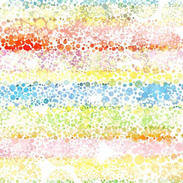 abstract colorful bubble texture background vector