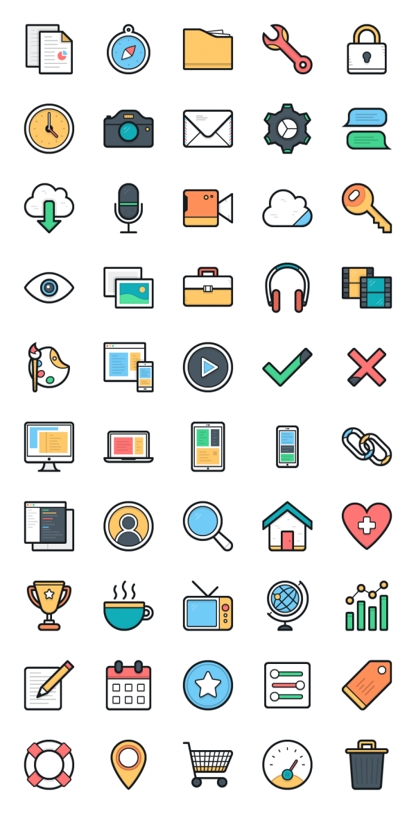 Lulu Icons - Set 1 vector
