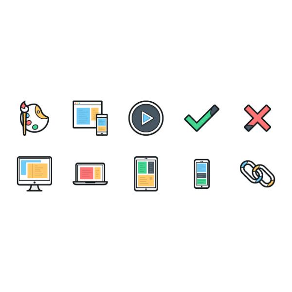 Lulu Icons - Mini Set 3 vector