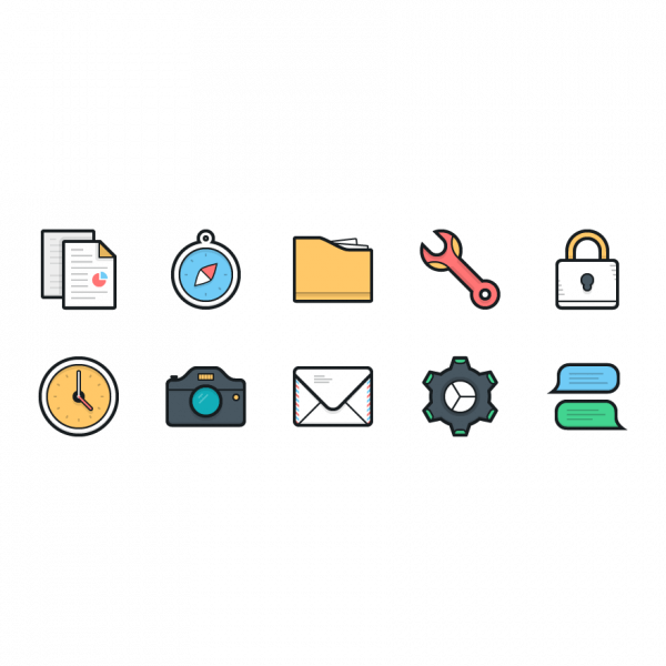 Lulu Icons - Mini Set 1 vector