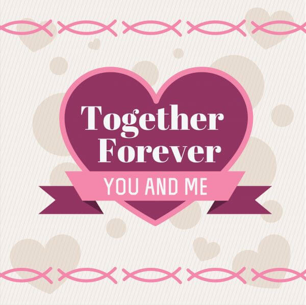 Vector card with some text for wedding or birthday vector