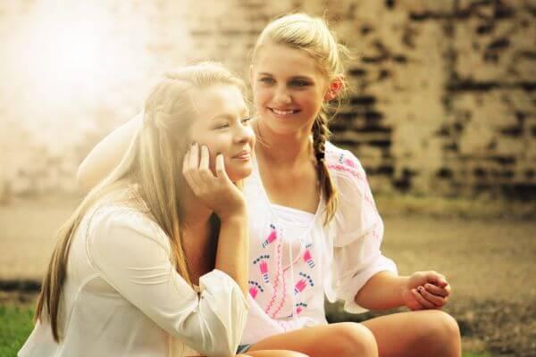 Blond photo