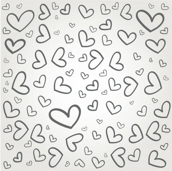 Vector pattern with some text for wedding or birthday vector