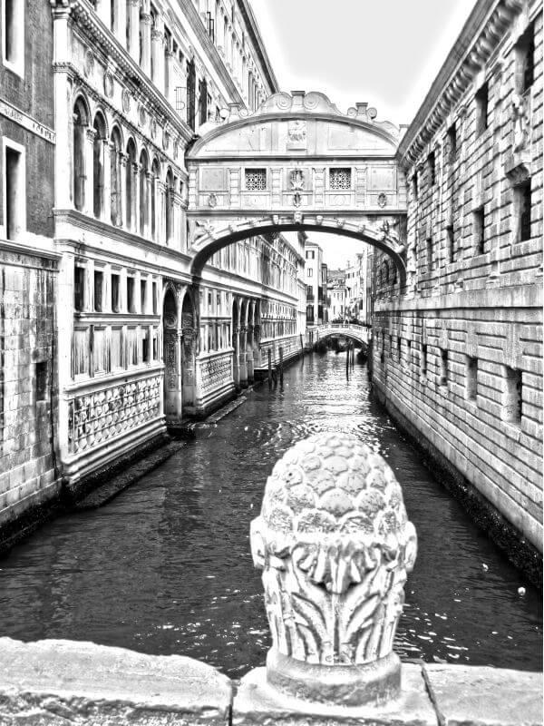 Black-and-white photo