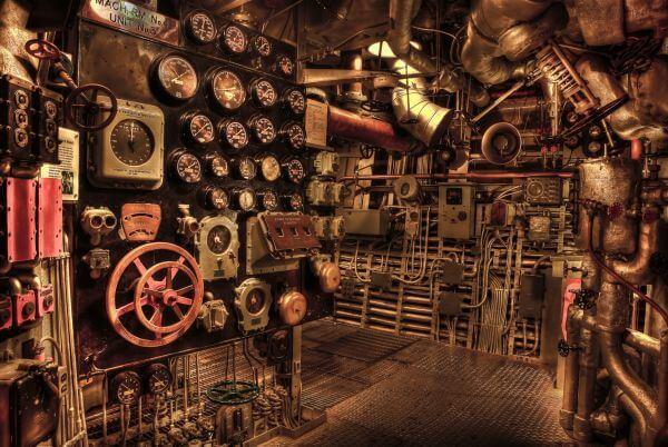 Engine room photo