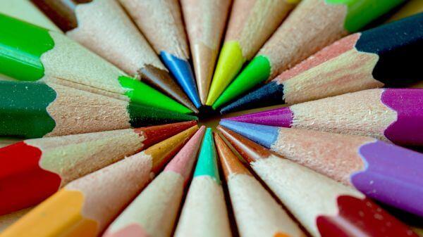 Color pencils photo