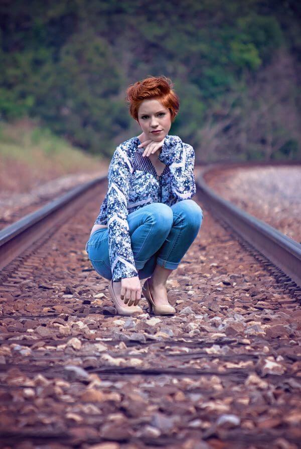 Brunette photo