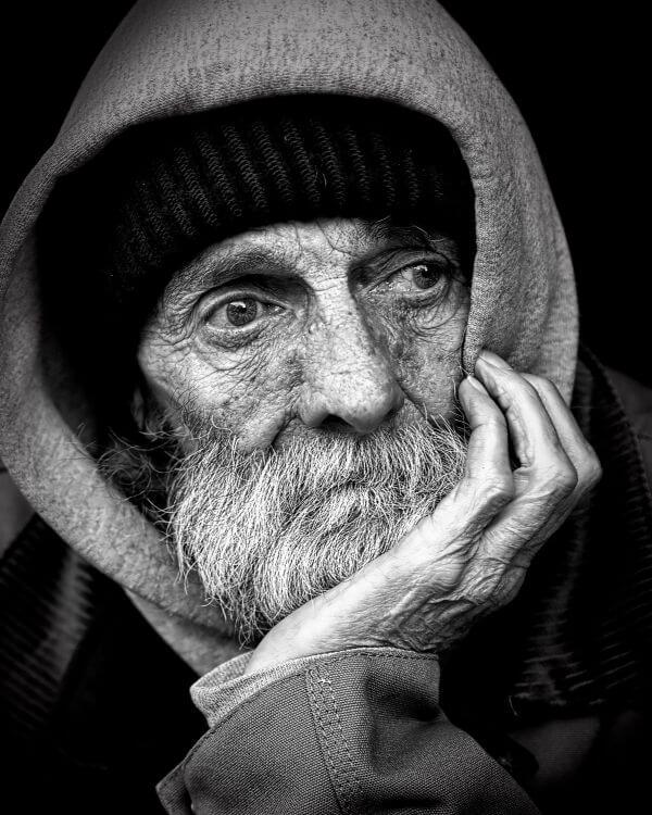 Aged photo