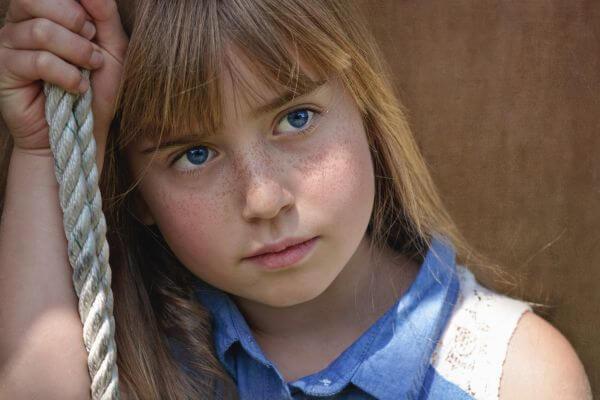 Blue eyes photo