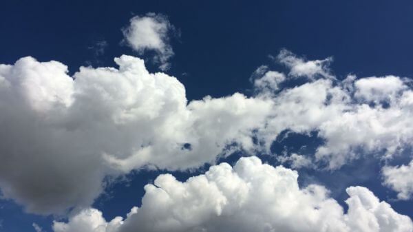 Clouds  blue  sky video