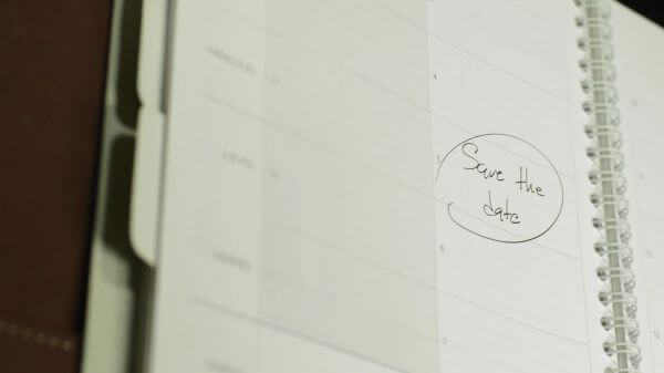 Date  appointment  address book video