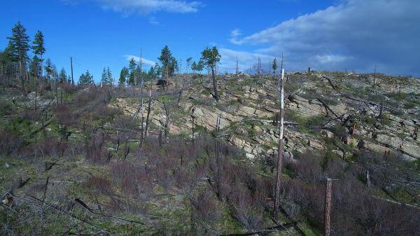 Okanagan  aerial  landscape video