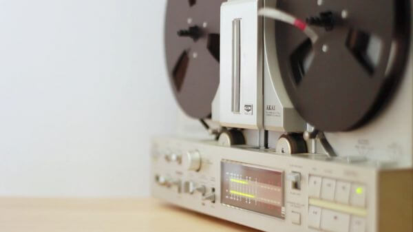 Tape  music  retro video