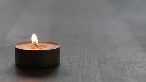 Candle  macro  burn video