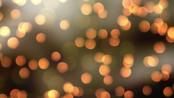Lights  background  blurred video