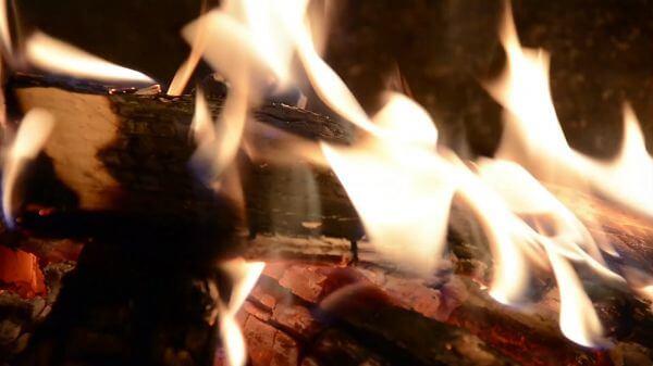 Fire  campfire  brand video