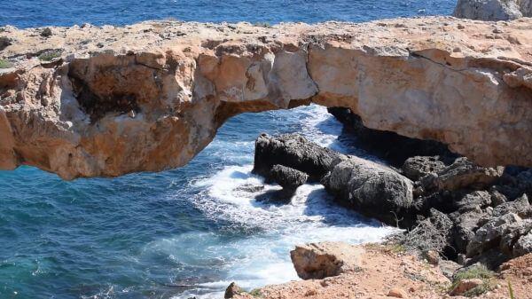 Cyprus  cavo greko  national park video