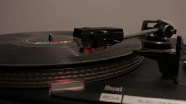 Turntable  old  vinyl