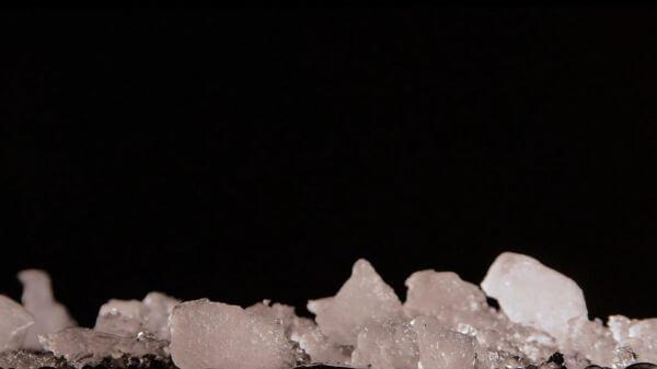 Snow  melt  water video