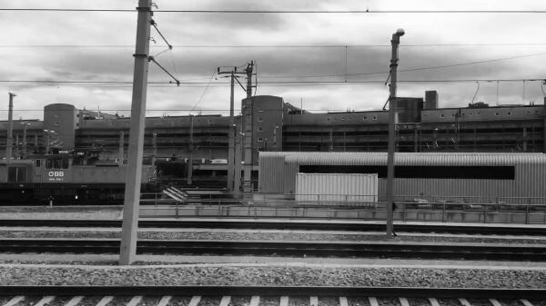 Railway  railway station  platform video