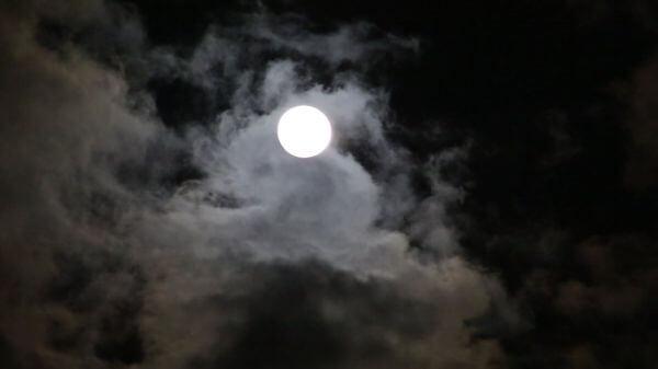 Moon  night  darkness video
