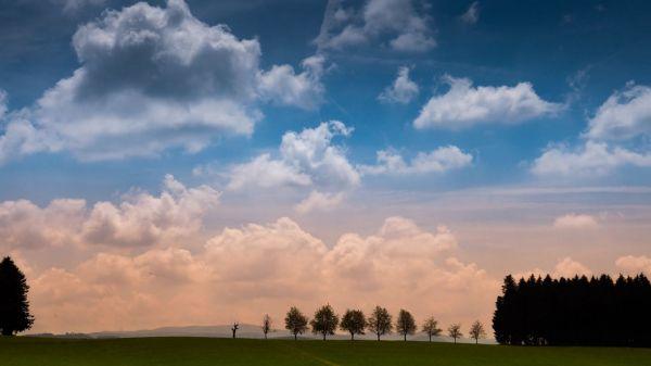Time lapse  clouds  landscape video