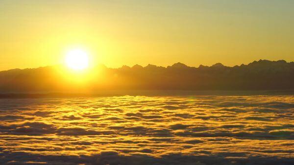 Sunrise  tödi  alpine video