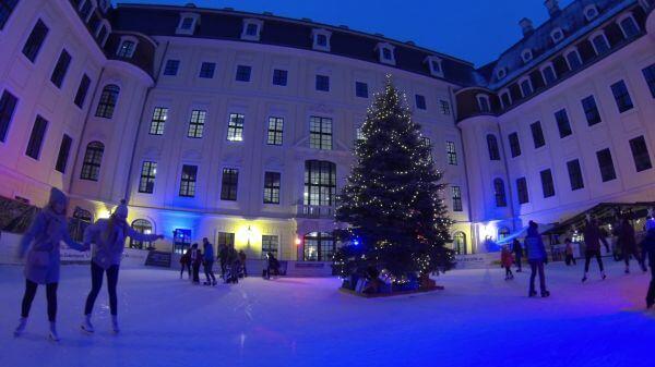 Skating  taschenbergpalais  dresden video