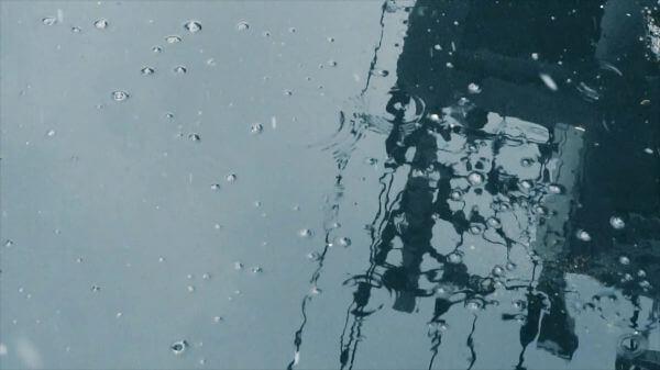 Snowflakes  snowing  water video