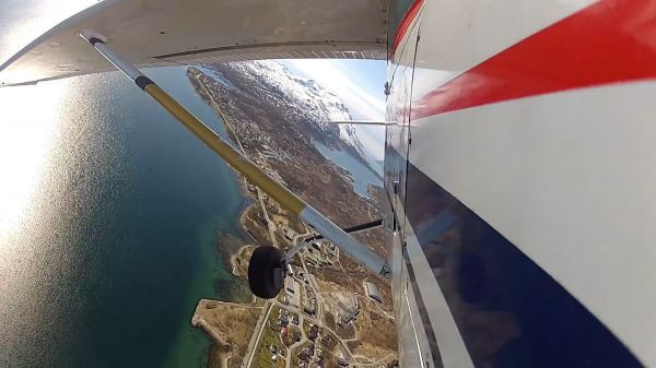 Fly  the air  flight video