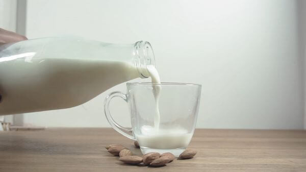 Milk  bottle  pouring video
