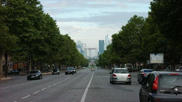 Paris  la grande arche  france video