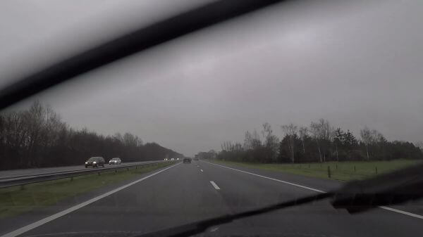 Freeway  traffic  cars video