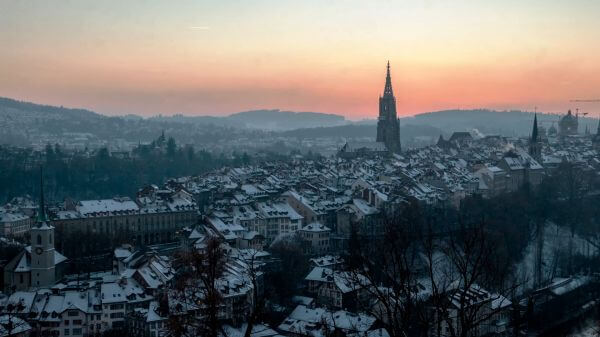 Bern  switzerland  rose garden video