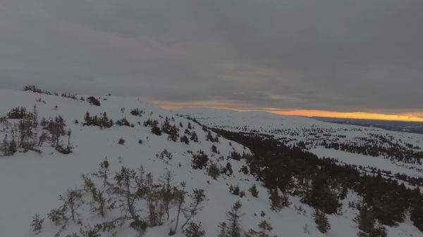 Winter  landscape  snowy video