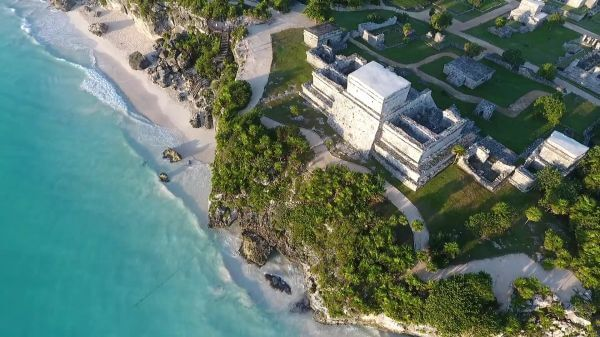 Tulum  mexico  temples video