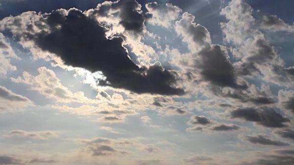 Sky  sun  clouds video