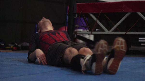 Wrestling  sport  fitness video