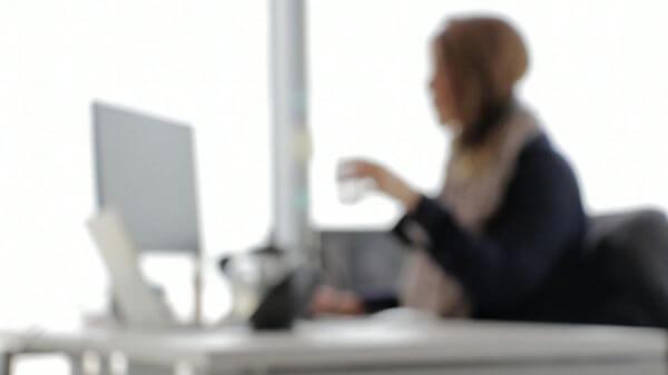 Office  secretary  business video