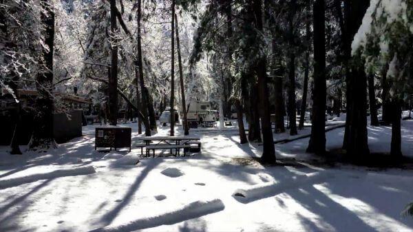 Snow  park  cold video