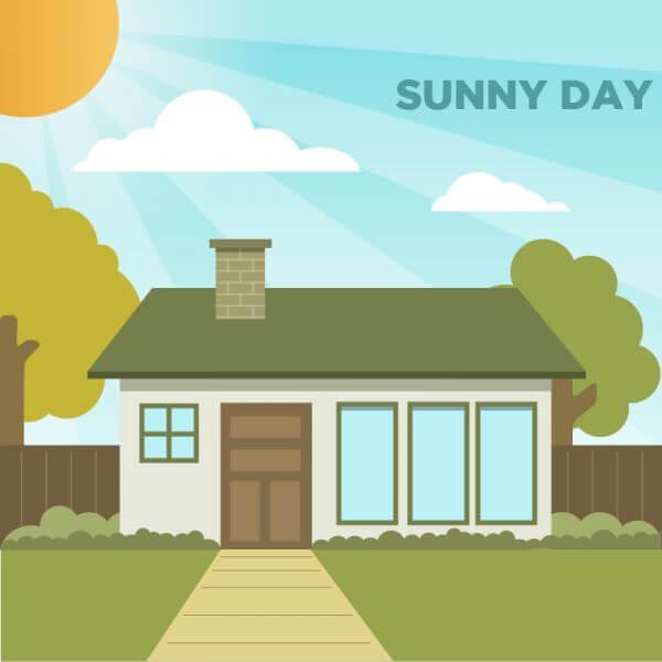 Sunny Day vector
