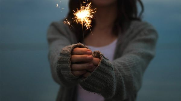 Sparkler  sparkles  cinemagraph video