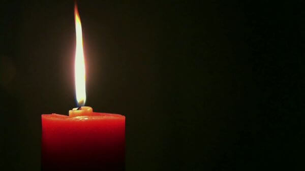 Candle  fire  flicker video