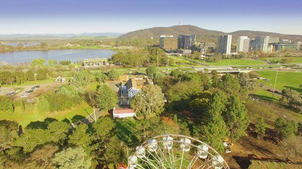 Park  canberra  australia video