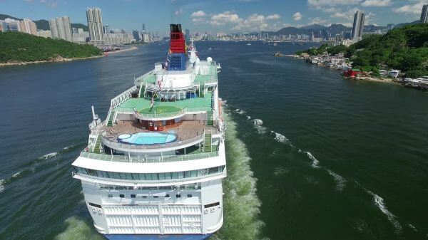 Cruise ship  cruises  harbour video