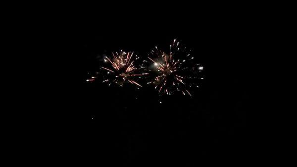 Fireworks  sparkles  night