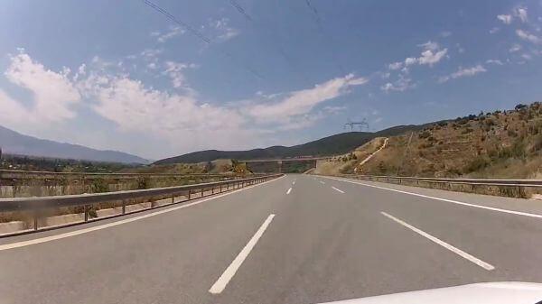 Road  driving  motorway video